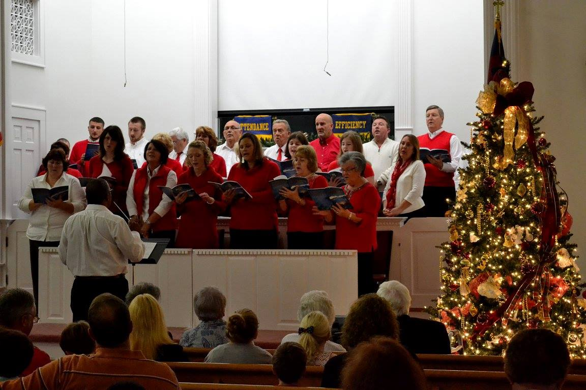 Tar Heel Baptist Choir at Christmas