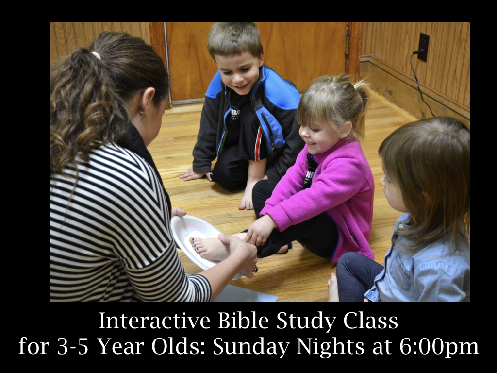 3-5 Year Olds Sunday Nights
