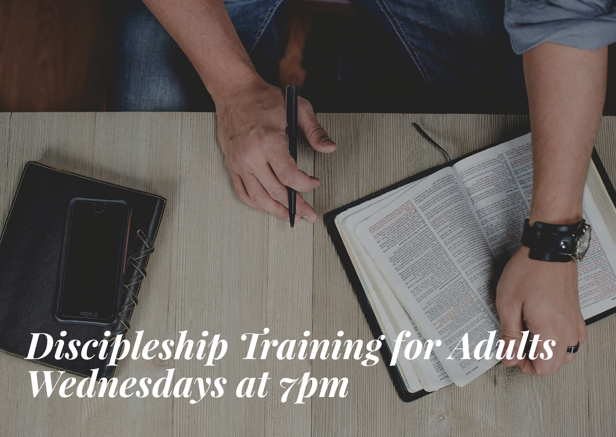 Discipleship Training for Adults